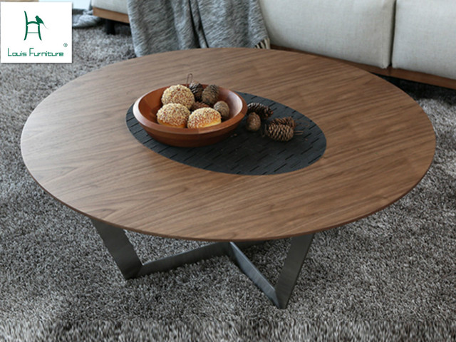 Nordic Style Furniture Simple Round Table Coffee Table Coffee Table Small  Modern Simple Living Room