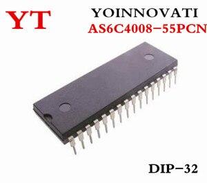 Image 3 - 5 قطعة/السلع AS6C4008 55PCN IC SRAM 4 ميغابت 55NS 32DIP 6C4008 AS6C4008 أفضل جودة