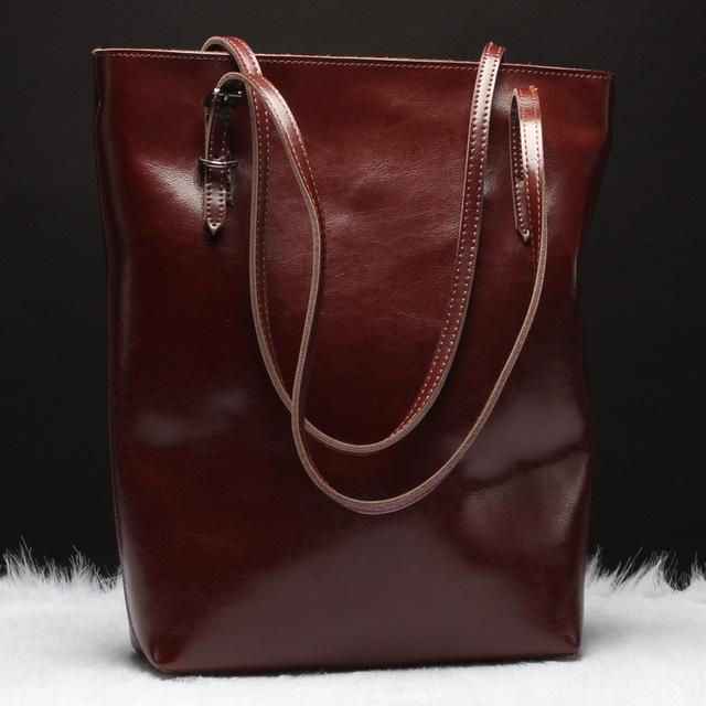 SUNNY SHOP  Luxury Genuine Leather Women Messenger Bags Real Leather Women Shoulder Bags Brand Designer Handbags High Quality