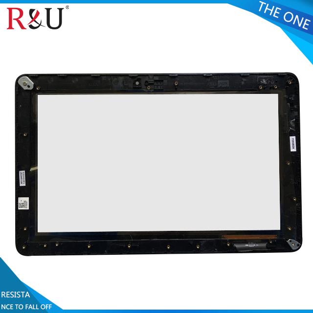 R&U used parts Touch Screen Digitizer with frame For Asus 11.6 Transformer Book T200 T200TA WIN8.1 TOP11H86 V1.1 Black