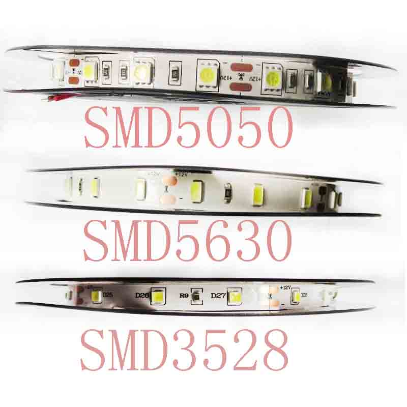 12V DC 5M RGB LED Strip Light Flexible High Quality 3528 5050 5630 Warm Cool White RGB 300 led SMD Not waterproof/waterproof waterproof 300 3528 smd led rgb flexible strip w 24 key controller 12v 5m