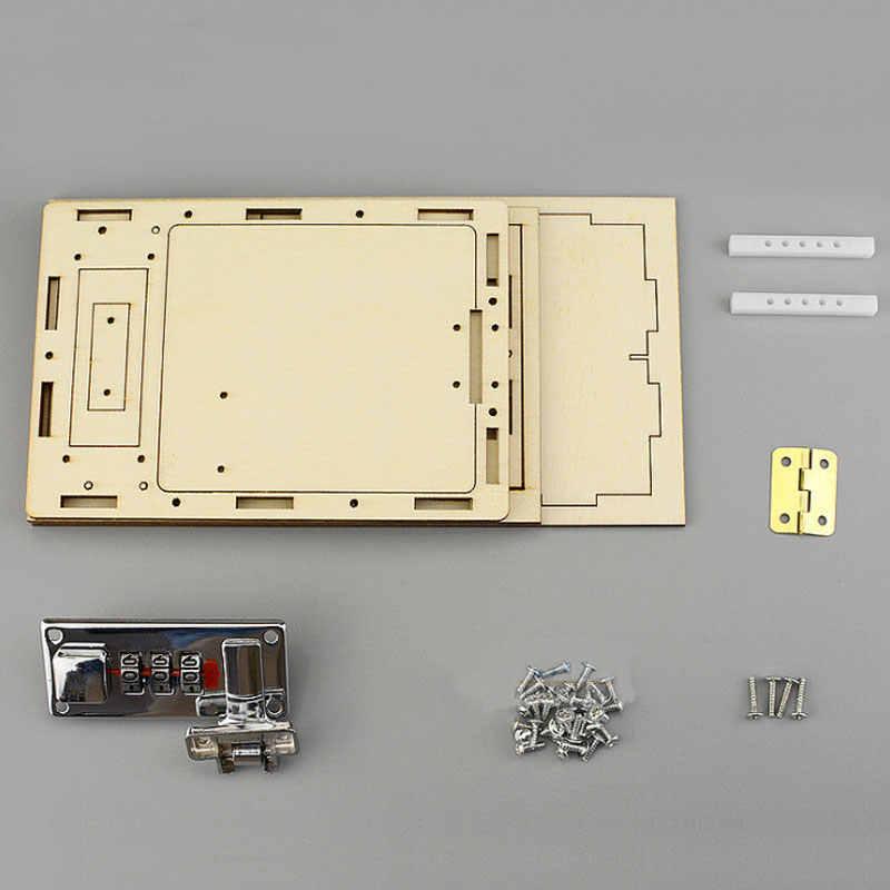 Saizhi коробка с паролем DIY детские школьные проекты наборы для экспериментов мальчик физик забавная игрушка изобретение инновации стволовое образование