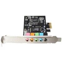 PCI E 5.1 Sound  6 port sound card CMI8738 cinema stereo Surround Sound Card