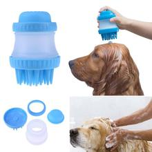 Dog Cat Shower Sprayers Bathtub Brush Pet Grooming Cleaning Tool Puppy Bath Massage Comb Washing
