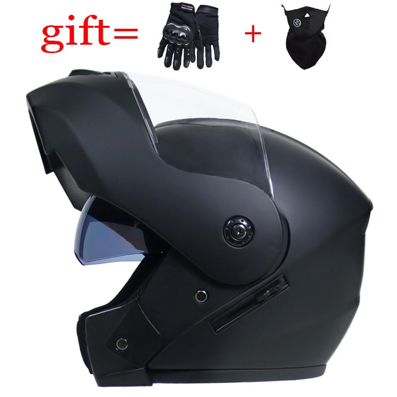 VURTUR 903 DOT certification fashion flip up motorcycle helmet dual visor system full face helmet fit for men women S M L XL