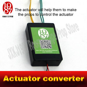 Image 5 - Actuator converter Real life room escape prop  Adventurer props power up amazing convertor to control linear actuator Chamber
