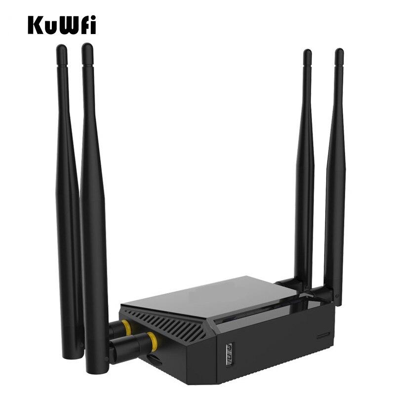 Voiture 4G LTE Wifi routeur OpenWrt 300 Mbps 3G routeur sans fil Wifi répéteur AP Mode routeur fonction DHCP avec fente pour carte SIM emplacement USB - 2