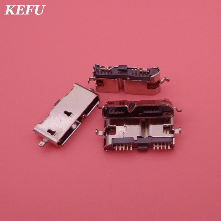 30pcslot MICRO USB 3.0 Connector Sockect for ONDA V989 Tablet PC 3.0 USB Jack Charging Socket