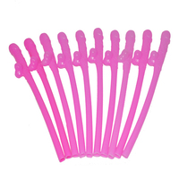 Drinking Penis Straws Dicky Sipping Straw Joke Sex Toys For Hen Party Bachelorette Party Dickies 10pcs