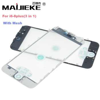 MAIJIEKE Top AAA+ cold press 3 in 1 Front Screen Glass With Frame OCA For iphone 8 7 plus 6 6s plus 5 5s 5c repair Replacement - DISCOUNT ITEM  52 OFF Cellphones & Telecommunications