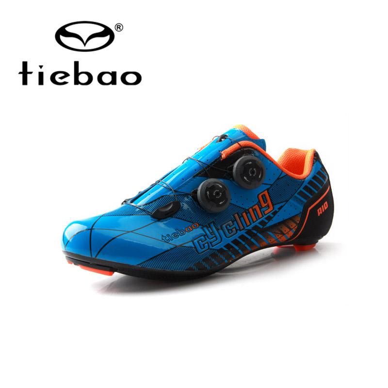 TIEBAO Professional Road Carbon Cycling Shoes Road Bike Bicycle Shoes Women Men Carbon Outsole Bike Shoes Athletic Shoes Racing tiebao nylon fibreglass road sports clismo shoes road bike cycle athletic clismo cycling bike shoes for men 46size