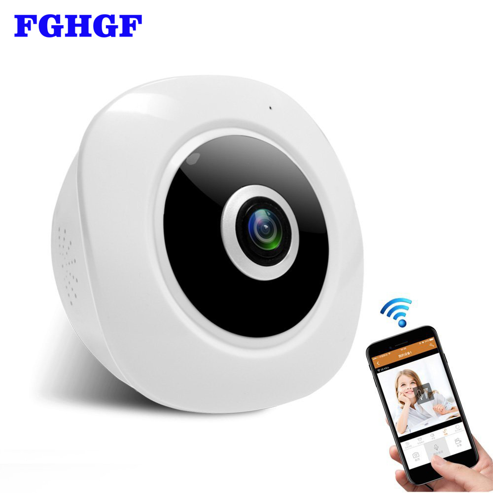 FGHGF Wireless Security IP Camera WIFI Home Surveillance 960P Night Vision CCTV Camera 1.3MP P2P Baby Monitor Indoor Webcam купить