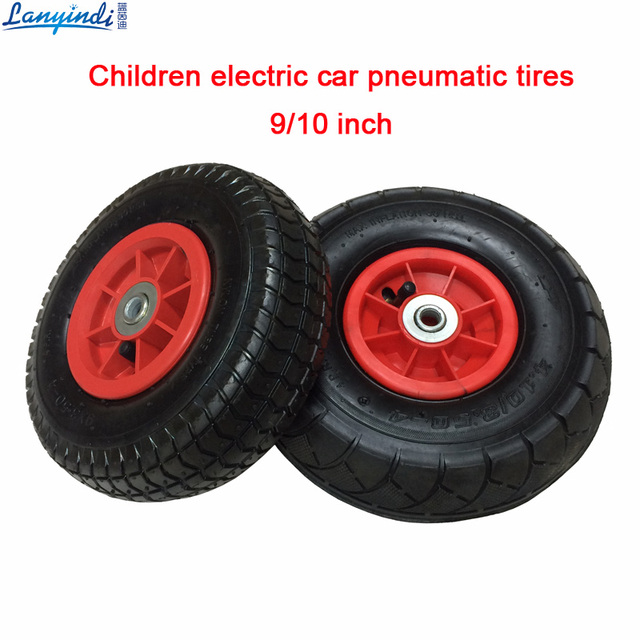 Children Electric Car Rubber Tires Vehicle Pneumatic Wheels Karting Inflatable Baby Cars For Toy