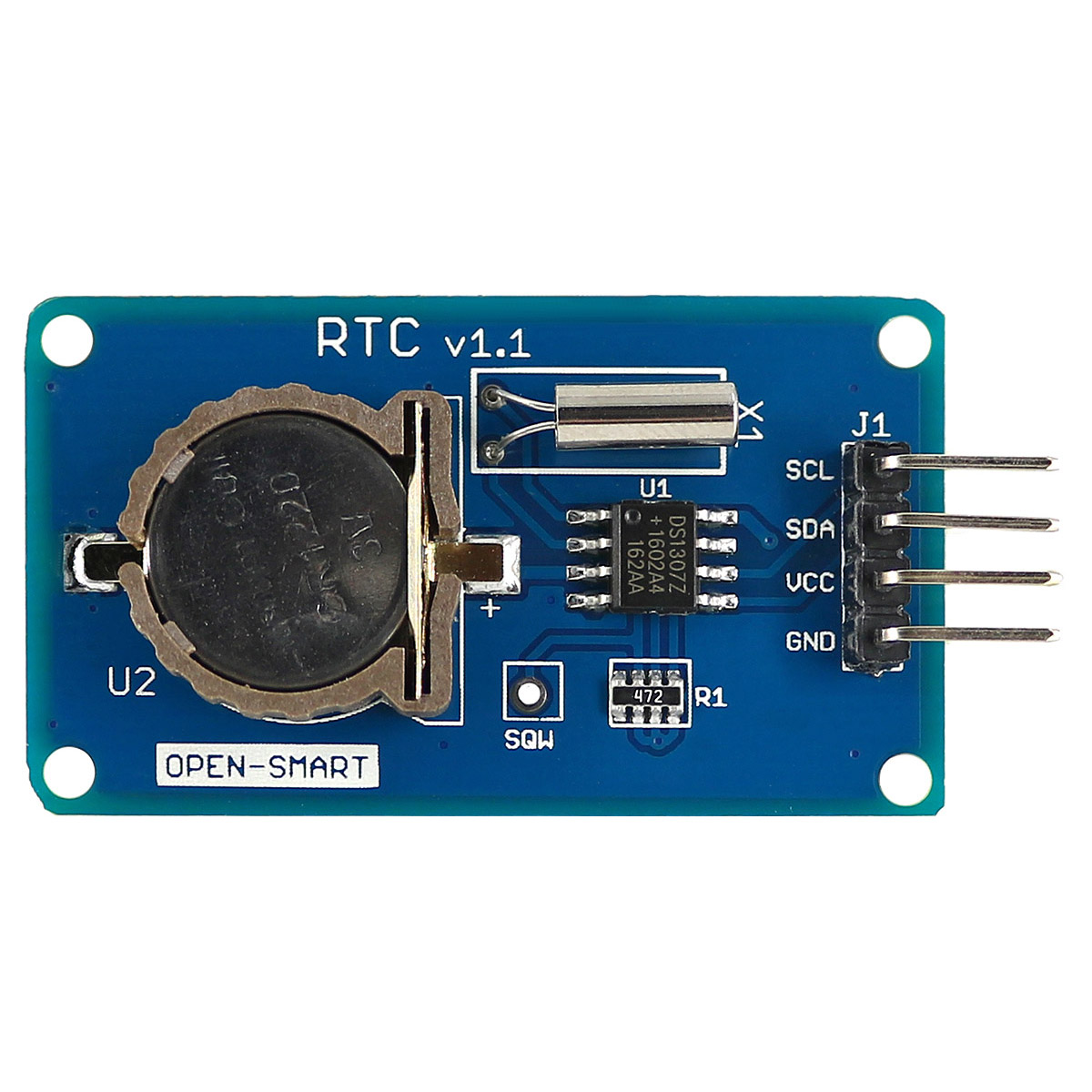 DS1307 Real Time Clock Module, I2C Interface to Do Alarm Clock, RTC ds3231n raspberry pi rtc board real time clock module for arduino red
