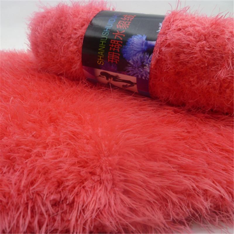 Бархатные нитки для вязания
