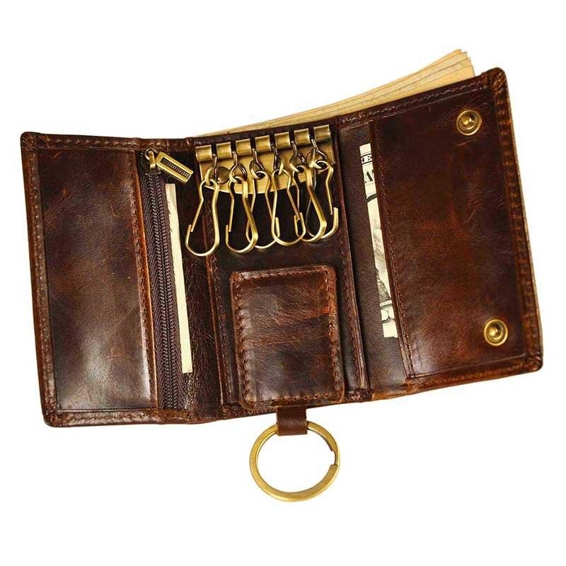 2017 carteiras de couro genuíno Name 2 : Key Wallet /key Pouch / Key Chain
