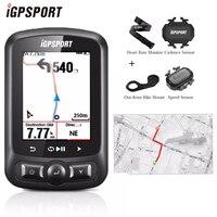Я gps порт IGS618 велосипедов компьютер gps ANT + Bluetooth Беспроводной Подсветка WaterproofIPX7 Велоспорт Спидометр велосипед цифровой секундомер