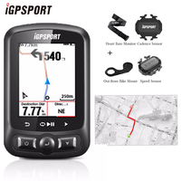 IGPSPORT IGS618 Bicycle Computer GPS ANT+ Bluetooth Wireless Backlight WaterproofIPX7 Cycling Speedometer Bike Digital Stopwatch