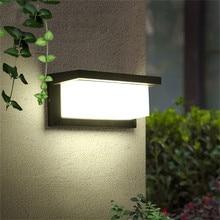 LED Outdoor Wall Lamp Modern 10W 15W LED Wall Light Aluminum Garden Porch Patio Aside Front Door Lighting Light NR-20