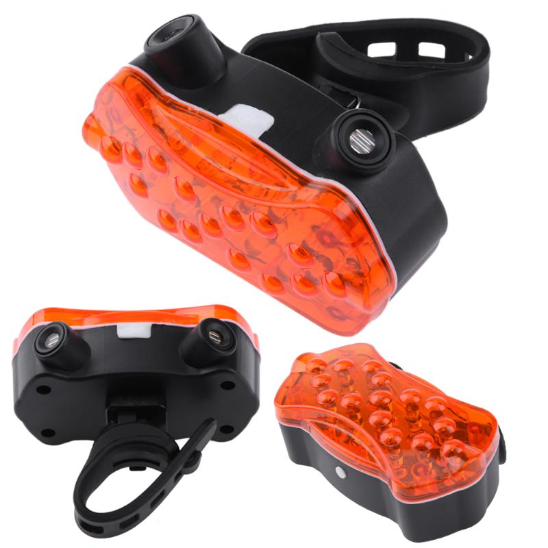 Bike Bicycle Turn Signal Safety Warning Light Rechargeable 5LED 2Lasers Beams Wireless Remote Control Waterproof Bike Tail Lamp