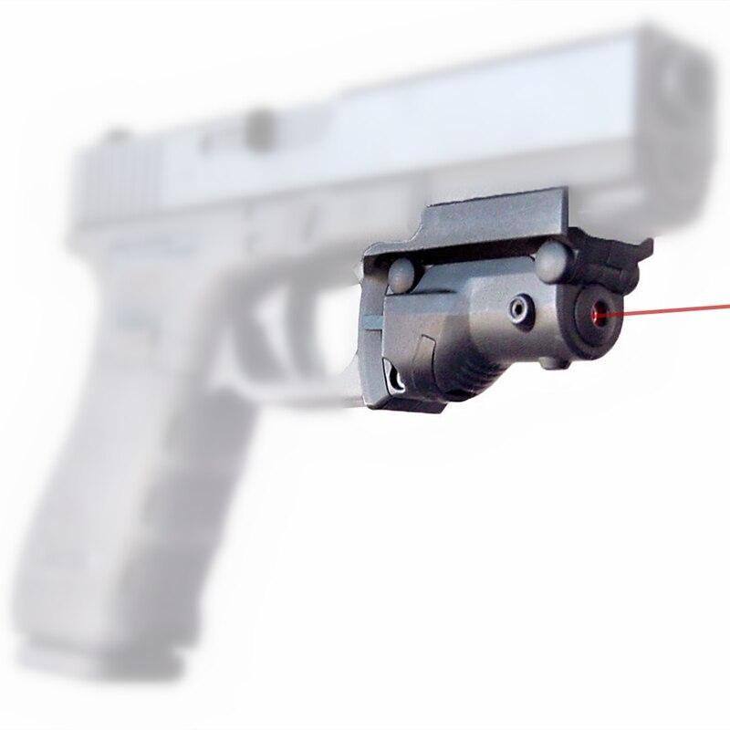 FIRECLUB Jagd Red Dot Laser Anblick 5 mw Laser für Pistole Pistole ...