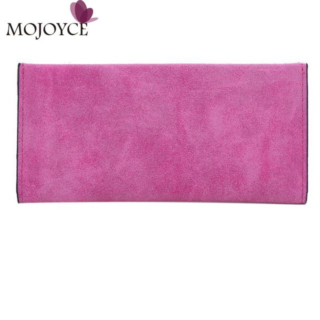 Hot Sale Women Wallets Retro Matte Suede Ultra Thin Wallet and Purse Day Clutch Card Holder Purse Portefeuille Carteira Feminina