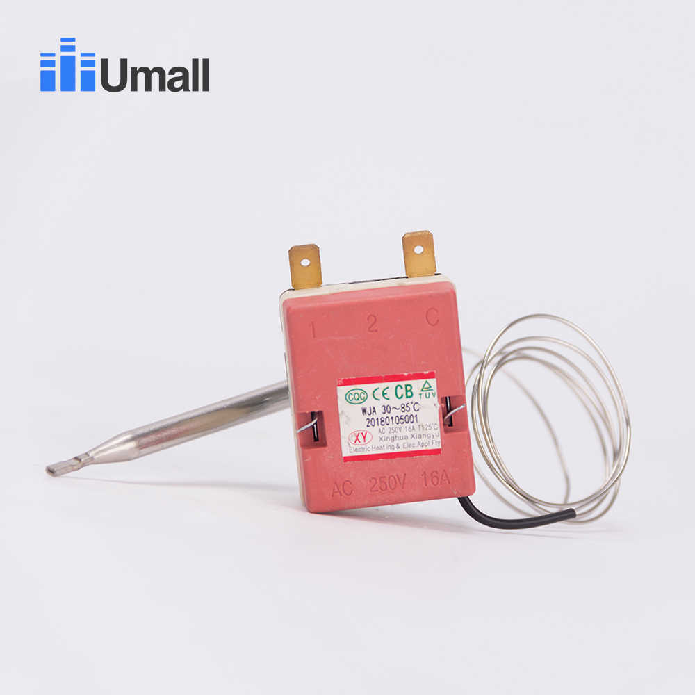 85C electric water heater temperature thermostat control valve switch probe switch hot water heater parts