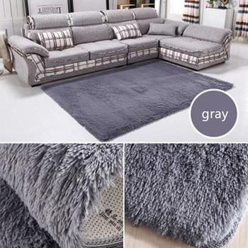 Wohnbedarf Teppiche Große Größe Plüsch Shaggy Verdicken Weich Teppich Schlafzimmer Bodenmatte Teppiche Für Wohnzimmer Große Bereich Rug140 * 200 cm