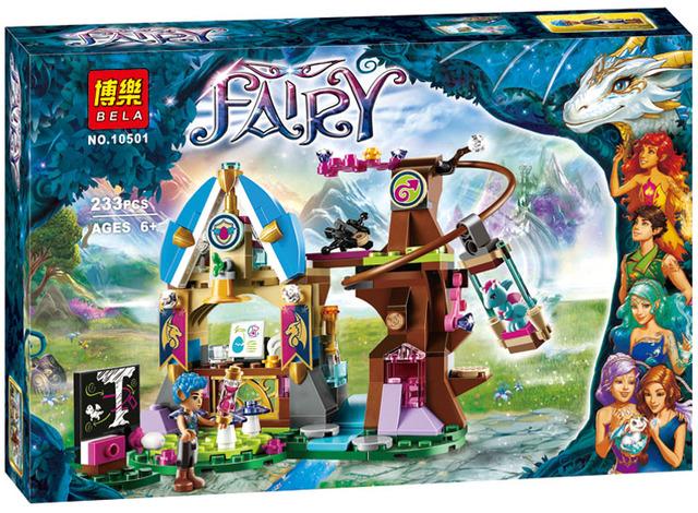 Azari El Mágico elfos elfos Panadería Casa Compatible Con Lepin Building Blocks Amigos Niñas Princesa de Hadas Juguetes