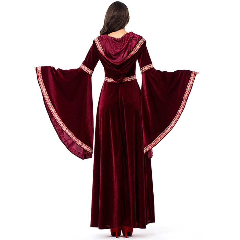 Halloween Medieval Renaissance Victorian Gothic Vampire Evening Dress Costume