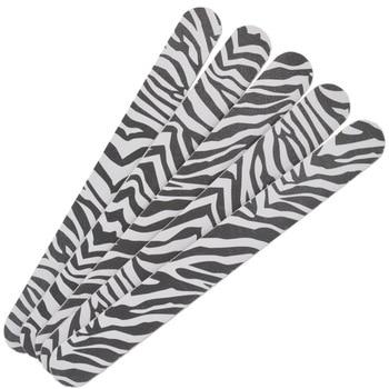 Wholesale 50Pcs 2-Side Leopard Durable Buffing Grit Sandpaper For Manicure, Nail Art Acrylic Polish Grind Sand File Block Buffer