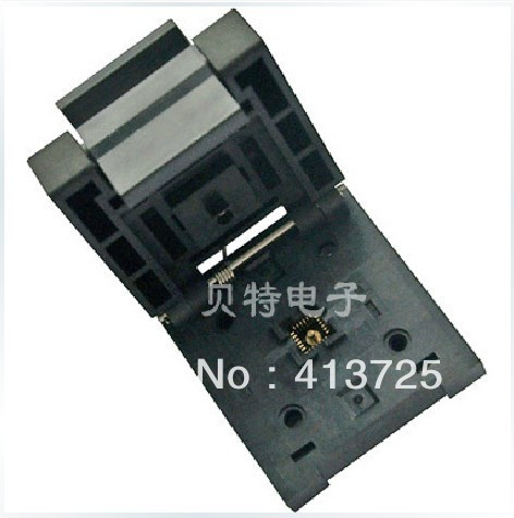 Original QFN24 riser block, QFN-24BT-0.5-01 block burning test, programming ic qfp32 programming block sa636 block burning test socket adapter convert
