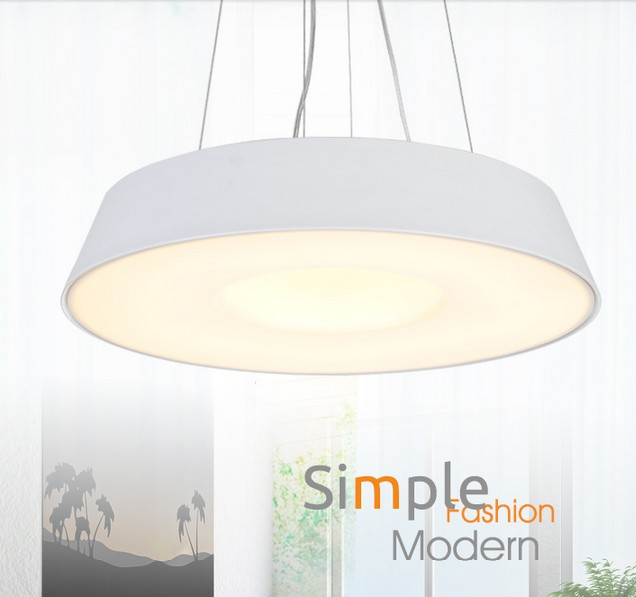Simple Creative Round Acrylic Droplight Modern LED Pendant Light Fixtures For Living Dining Room Hanging Lamp Home Lighting free shipping compatible projector lamp for nec lt75z