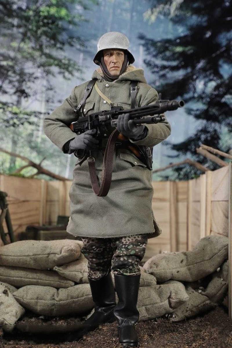 figurine ensemble échelle SS WWII DAS REICH affichage modèle Figure allemande PANZER complet D80130 16 DID armée DIYISION Panzer MG42 Guner EDH2e9IYbW