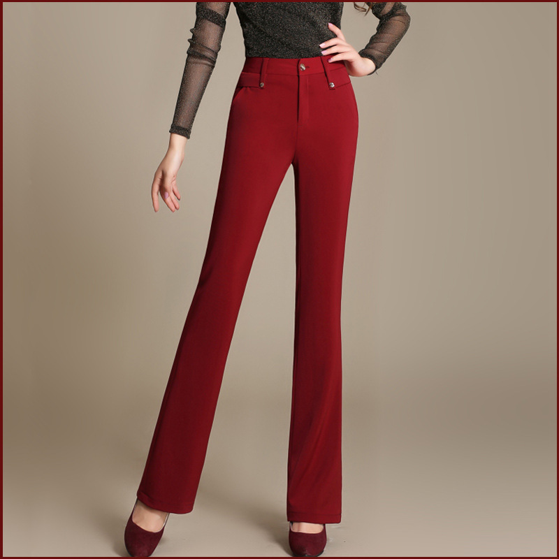 Online Get Cheap Red Flare Pants -Aliexpress.com | Alibaba Group