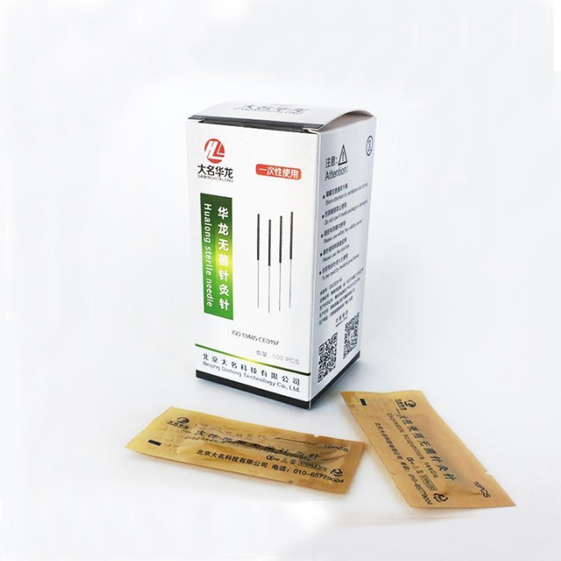 Health & Beauty Acupuncture Needles With Guide Tube For Single Use 0.22x40mm Distinctive For Its Traditional Properties Natural & Alternative Remedies