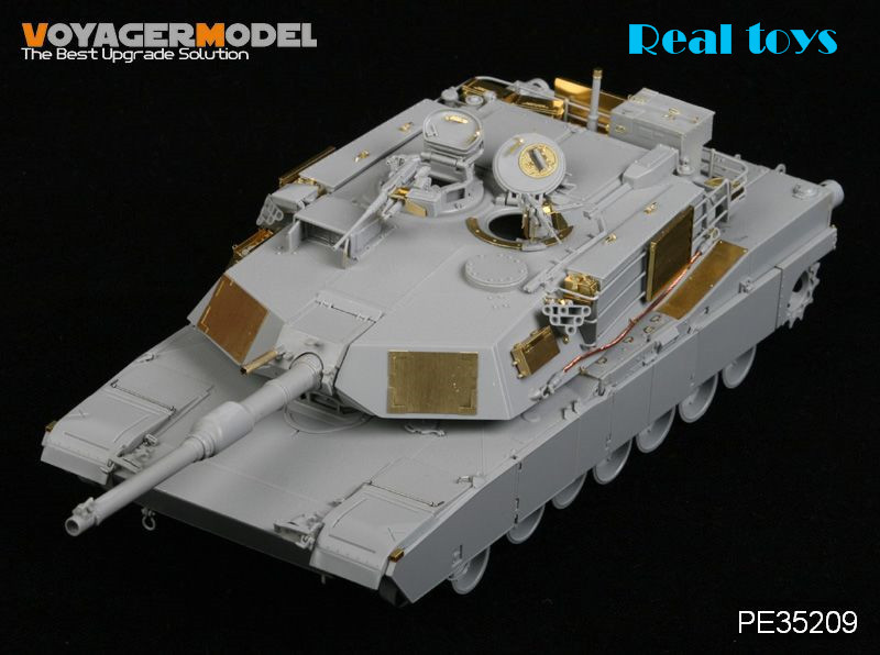 Voyager model PE35209 1/35 M1A1 Abrams Tank (For DRAGON 3535) voyager pe35419 1 35 modern us m1a2 tusk2 abrams detail set for dragon 3536