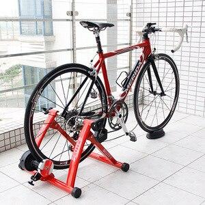 Image 1 - Велотренажеры для домашних тренировок, магнитные резисторы 26 28 дюймов, тренажер для дома, фитнес станция, ролики для велоспорта