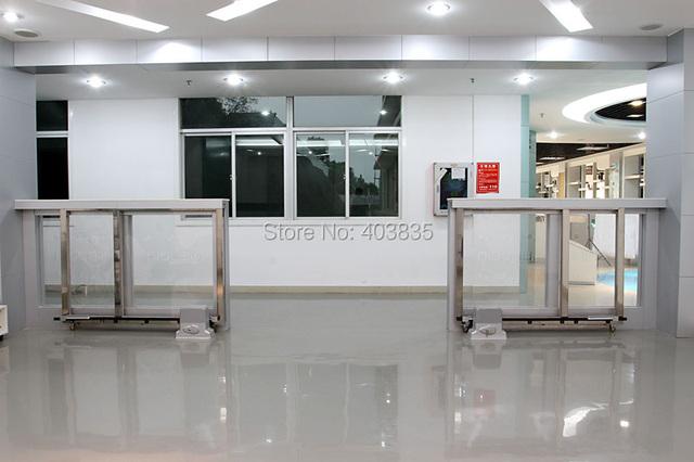 Heavy duty 3600lbs 1800 kg eléctrica puerta corredera de motor/motor abridor de puerta automática con 2 mandos a distancia