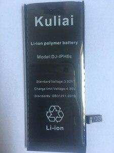 Image 3 - Литиевая батарея Kuliai для Apple iPhone 6 S 6 6 plus 5s 5 сменные батареи Внутренняя батарея для телефона 4260 мАч + Бесплатные инструменты