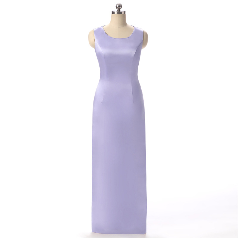 Doragrace Mode Drapieren Zwei Stück Watteau Zug Einfache Wunderschöne Abendkleid Formale Party Kleider - 2