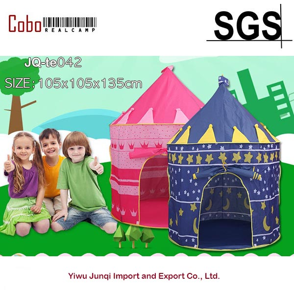 PORTABLE-FOLDING HUGE Baby Kids Portable Outdoor Indoor Palace Castle House Play Tent Playhouse