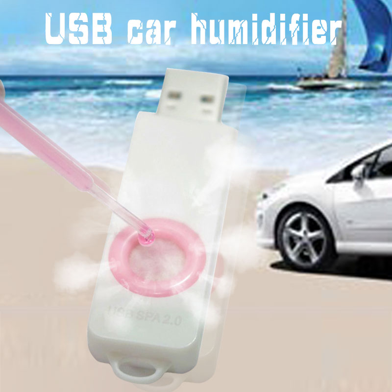 2019 Drop Shpping Polychromatic Usb Aroma Diffuser Usb Aroma Purifier Cheap Glowing Office Usb Mini Diffuser For Car Supplies