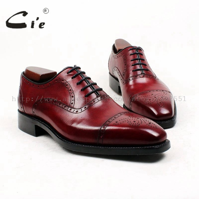 Square Toe Custom, Handmade, GOODYEAR Welted Full Grain Leather Men's Oxford Shoes