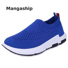 Children's flying woven sneakers running children's shoes boys