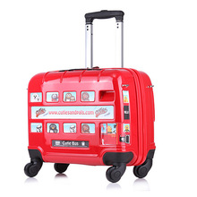 16 Inch Children Luggage Suitcases With Wheels Road ABS Students Spinner Trolley Case Children's Suitcase Travel Bag Luggage Box