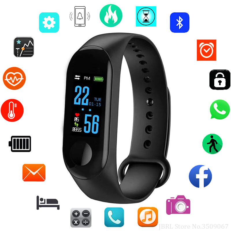 New Smart Watch Kids Watches Children For Girls Boys Sport Bracelet Smart Clock Fitness Tracker Wristband Smartwatch Child GiftsNew Smart Watch Kids Watches Children For Girls Boys Sport Bracelet Smart Clock Fitness Tracker Wristband Smartwatch Child Gifts