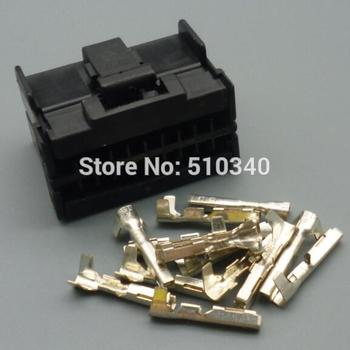 20set  1.2mm 20-hole connector sheath car car connector plug with terminal