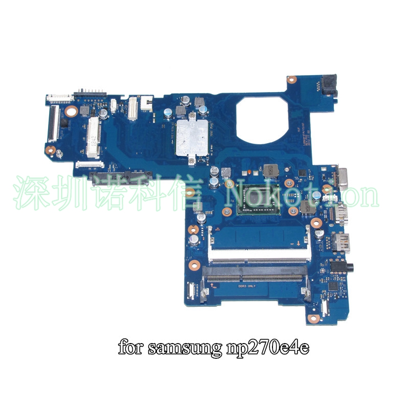 NOKOTION BA41-02206A For samsung NP300E5E NP270E5E 300E5E 270E5E Laptop motherboard SLJTA 887 CPU