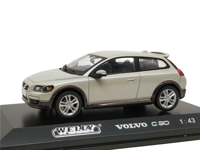Welly 1:43 Volvo C30 Diecast Alloy Model Car Toy Car цена